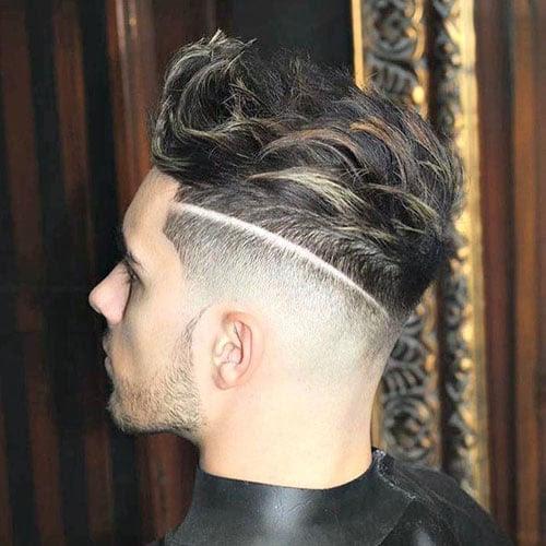 Textured Modern Quiff  Men's Hairstyles + Haircuts 2017