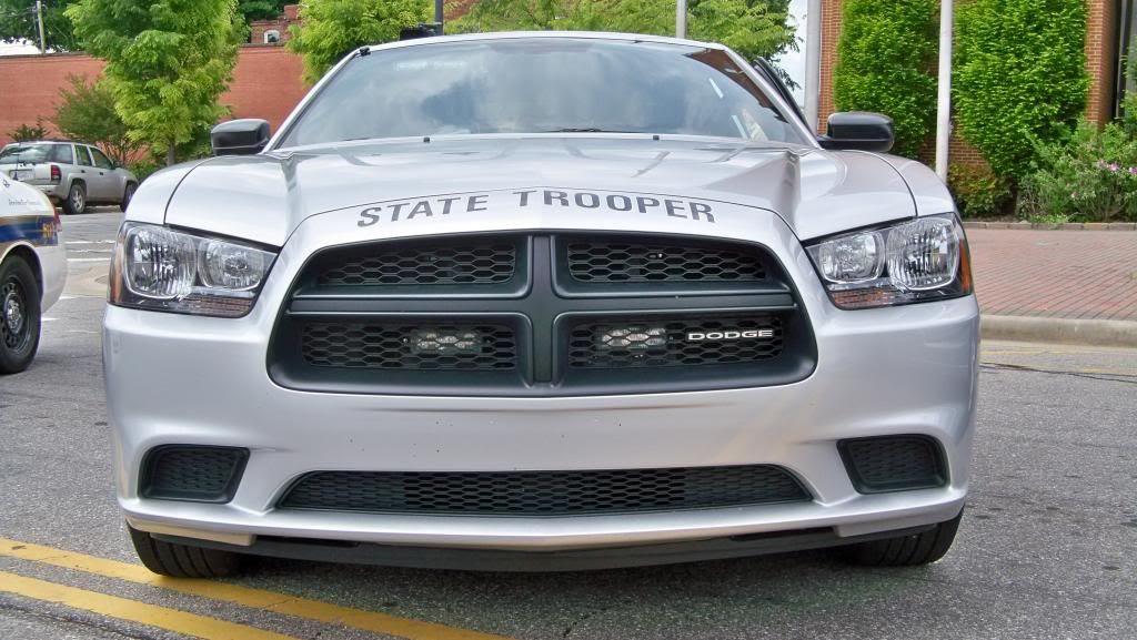 NCSHP Patrol Car