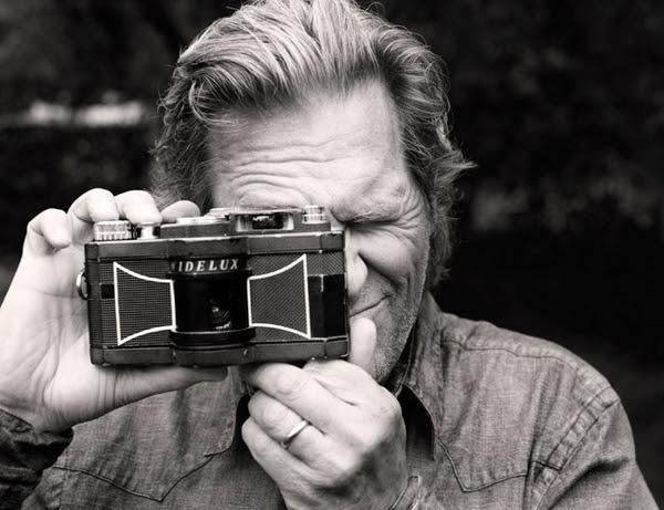 Jeff Bridges Des gens célèbres avec des appareils photos  photo liens divers bonus