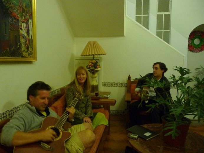 Marco, Rocco and I jamming together