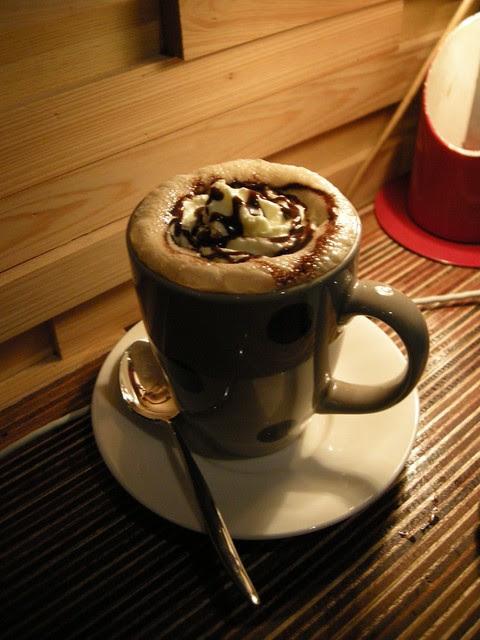 Espresso con cacao panna