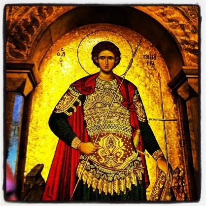Άγιος Φανούριος ο Μεγαλομάρτυς († 27 Αυγούστου). Η εύρεση της εικόνας, θαύματα του Αγίου και η πίτα του Αγίου Φανουρίου