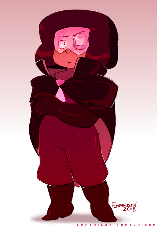 The Once-Decorated Captain I love to headcanon Eyeball having once being a high-ranking Ruby in Pink Diamond's court before she was stripped of her status. (Suggested by my friend @steeringthetimeline...