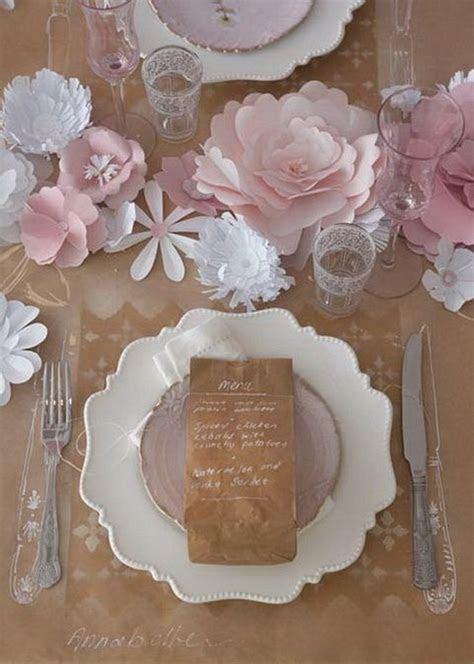 creative paper flower wedding ideas deer pearl flowers