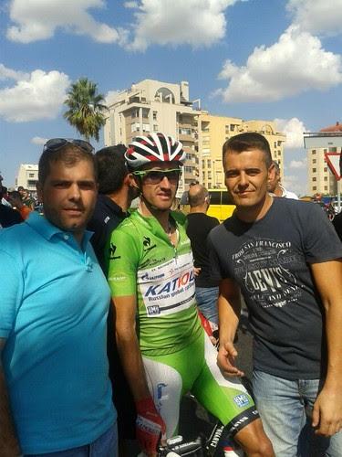 Con Dani Moreno del Katusha