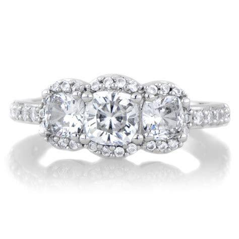 Fake 3 Stone Diamond Rings   Wedding, Promise, Diamond