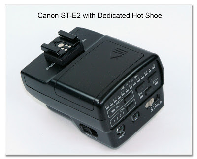 Canon ST-E2 with Dedicated Hot Shoe