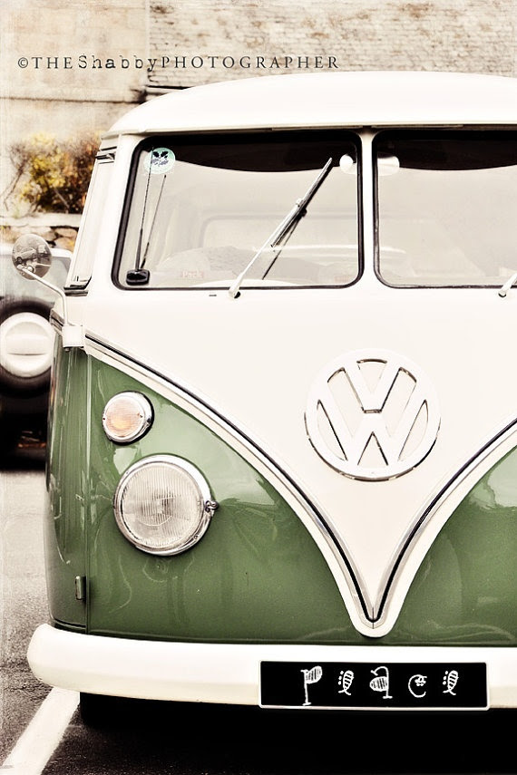 I wish I could have one of those some day... I would put a bed in the back and go camping with it everywhere! I shouldn't think about how much gas it takes, though. But it looks so cute.