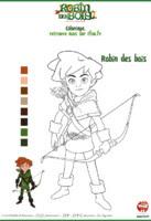 Coloriage Marianne Robin Des Bois Disney Coloriage Robin Des Bois