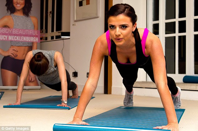 TOWIE's Lucy Mecklenburgh has developed a strict fitness regime that centres on hard work and dedication