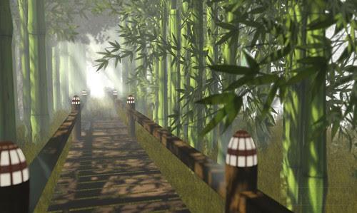 Where's Dim Sum? #129 - Through the bamboo grove