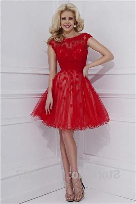 red lace semi formal dresses Naf Dresses