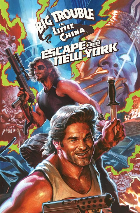 Escape From New York Big Trouble In Little China Comic