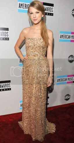 American Music Awards 2011: Red Carpet Fashion