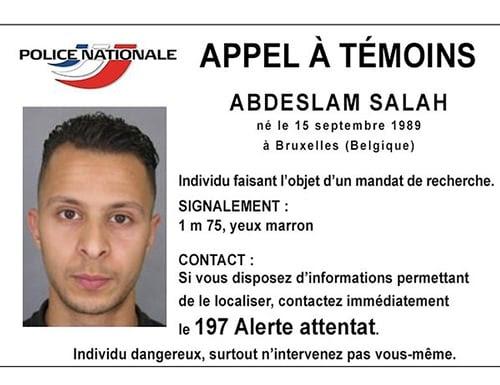 Hình ảnh Pháp săn lùng kẻ tấn công thứ 9 trong khủng bố Paris số 1