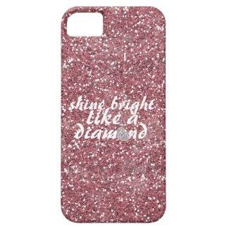 Pink Glitter Shine Bright Diamond