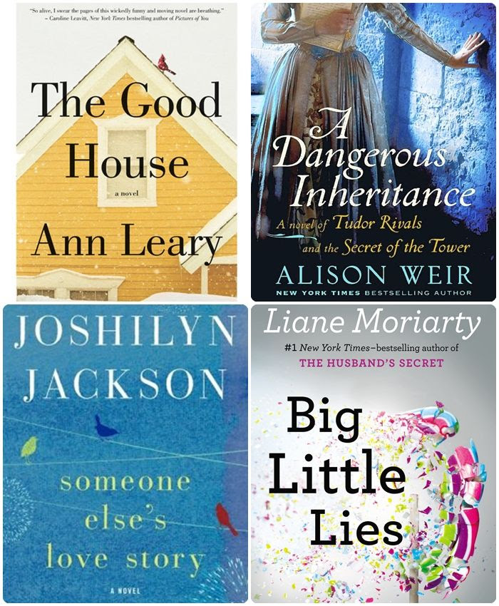 new favorite fiction reads ... plus favorite new cookbooks, too!