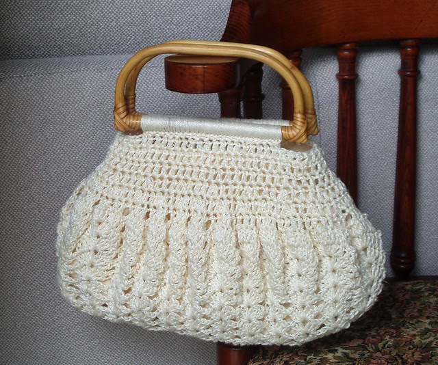 Crocheted bag from my aunt
