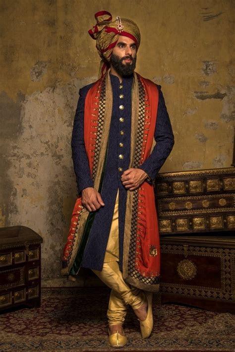 navy blue sherwani   UX/UI Designer, Sherwani and Wedding
