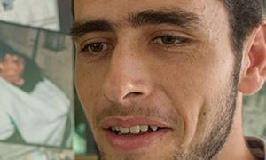 Hamza Matar há três anos mora em Cuba e reconhece a tranquilidade cidadã na sociedade, afastada de toda classe de guerra e tensões bélicas.