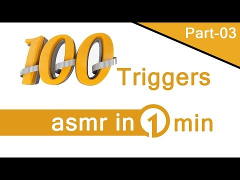 100 triggers asmr in 1 min [Part - 03] Maditation On Sleeping