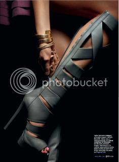 fashion magazines,elle us march 2010