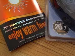warm feet in winter review
