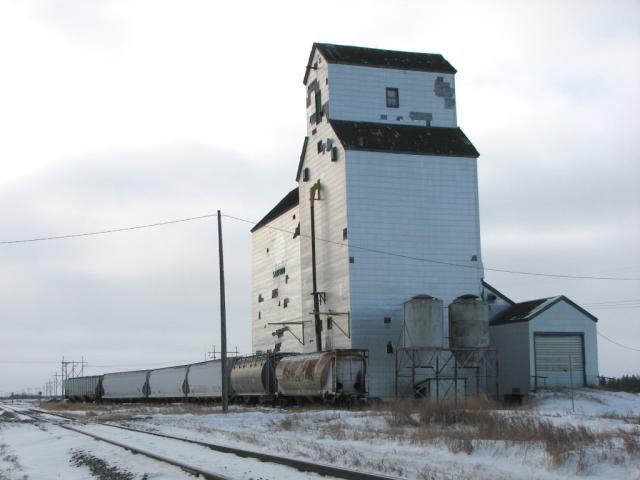 Sanford grain elevator