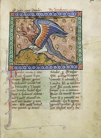 """""""A Dragon,"""" 1270"""