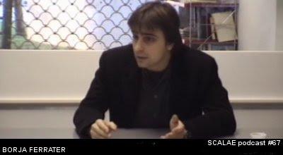 Borja Ferrater en el Centro de Enlace AE BCN para SCALAE