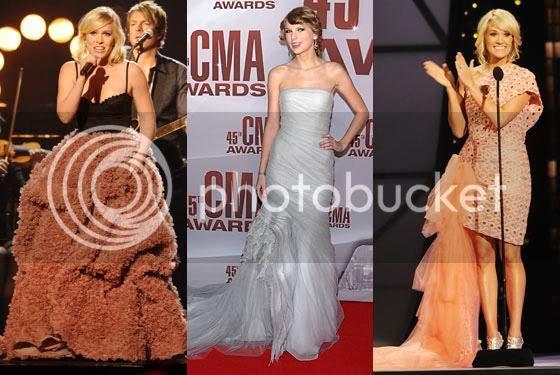 CMA Awards 2011 Fashion Styles