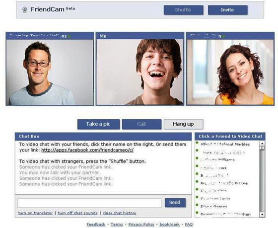 friendcam video chat
