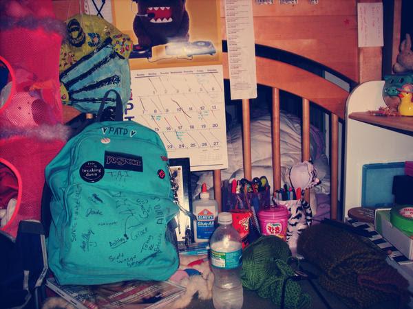 My spiffy school bag by sanasstage