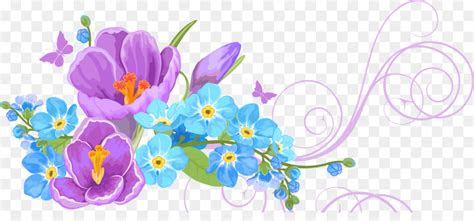 vector flower flower background png