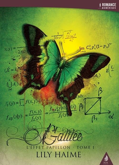 Couverture L'effet papillon, tome 1 : Galilée