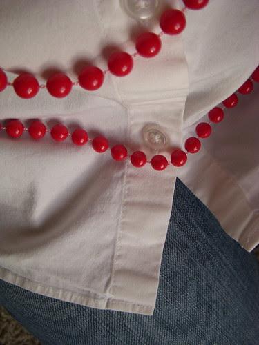 Vintage plastic beads