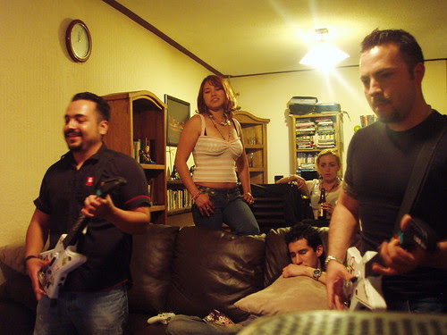Pedro, Pablo, gorda al fondo y Mulder valiendo madres