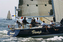 J/44 VAMP sailing Block Island race