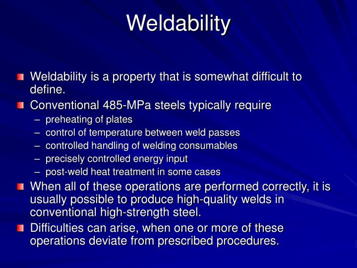 Welding Consumables - Part 5