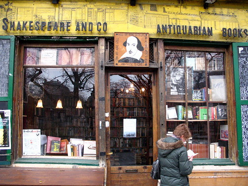 Shakespeare & Co Antiquarian Books by El Bingle