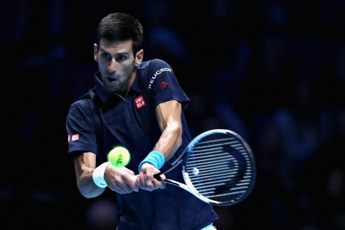 Novak Djokovic foi dominante diante de Kei Nishikori (Foto: Getty Images)
