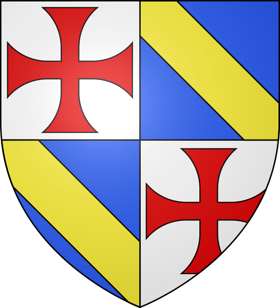 File:Coat of arms Jacques de Molay.svg