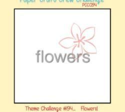 PCCCS #194: Flower Theme Challenge