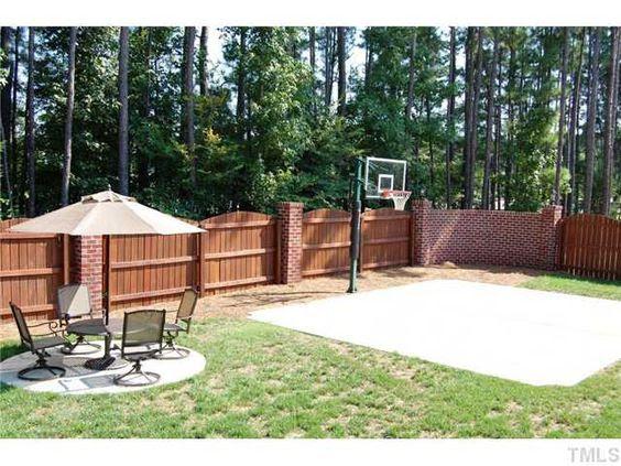 backyard basketball court ideas 12