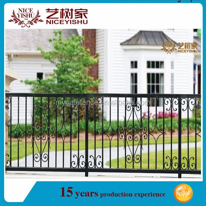 Used Wrought Iron Fence Fence Grill Design Boundary Wall Grill
