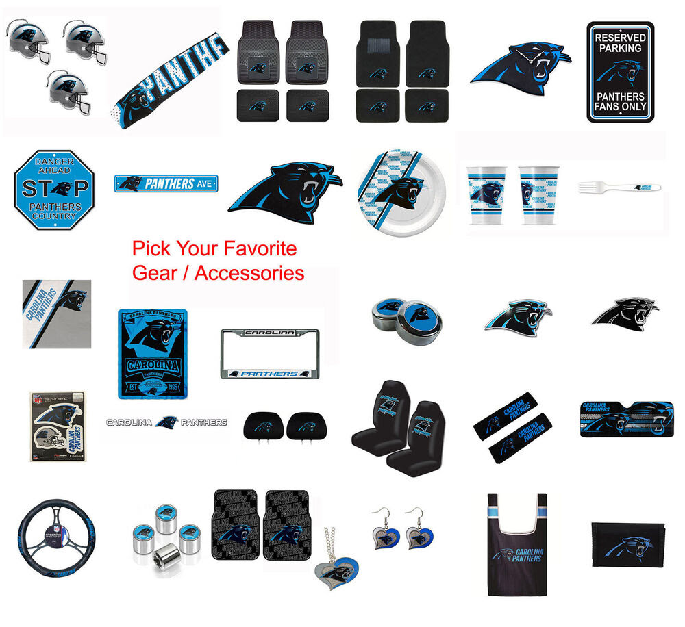 Brand New NFL Carolina Panthers Pick Your Gear / Accessories Official Licensed  eBay