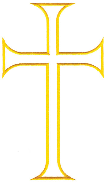 Free Cross Outline Download Free Clip Art Free Clip Art On Clipart