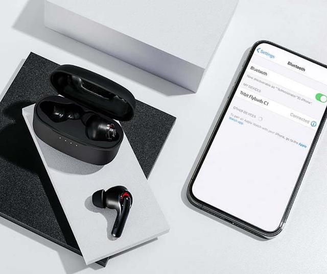 【Tribit FlyBuds C1 藍牙耳機】 真無線、環境抗噪 網店特價$599
