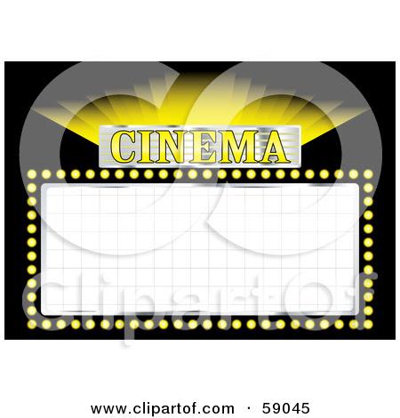 Movie Billboard Clipart - More information