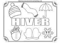 Coloriage Paysage Hiver Imprimer Dessin Colorier Pour Un Hiver